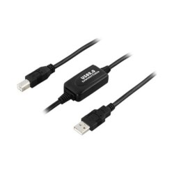 Cable USB Tipo-A | Tipo-B, 10m