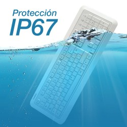 PERIBOARD-511 Teclado protegido contra líquidos (IP67)