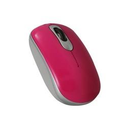 PERIMICE-403  Ratón mini, rosa y plata