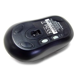 PERIMICE-602 Ratón Mini.  Wireless. Negro.  Reverso