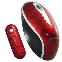 PERIMICE-603 Ratón Wireless. Rojo 3D