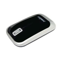 PERIMICE-706 Ratón wireless Negro. Vista lateral derecha