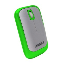 PERIMICE-706 Ratón wireless Verde